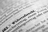 OLG Frankfurt: Längere Widerrufsfrist als 14 Tage ist zulässig - Beschluss 6 W 42/15 vom 07.05.2015