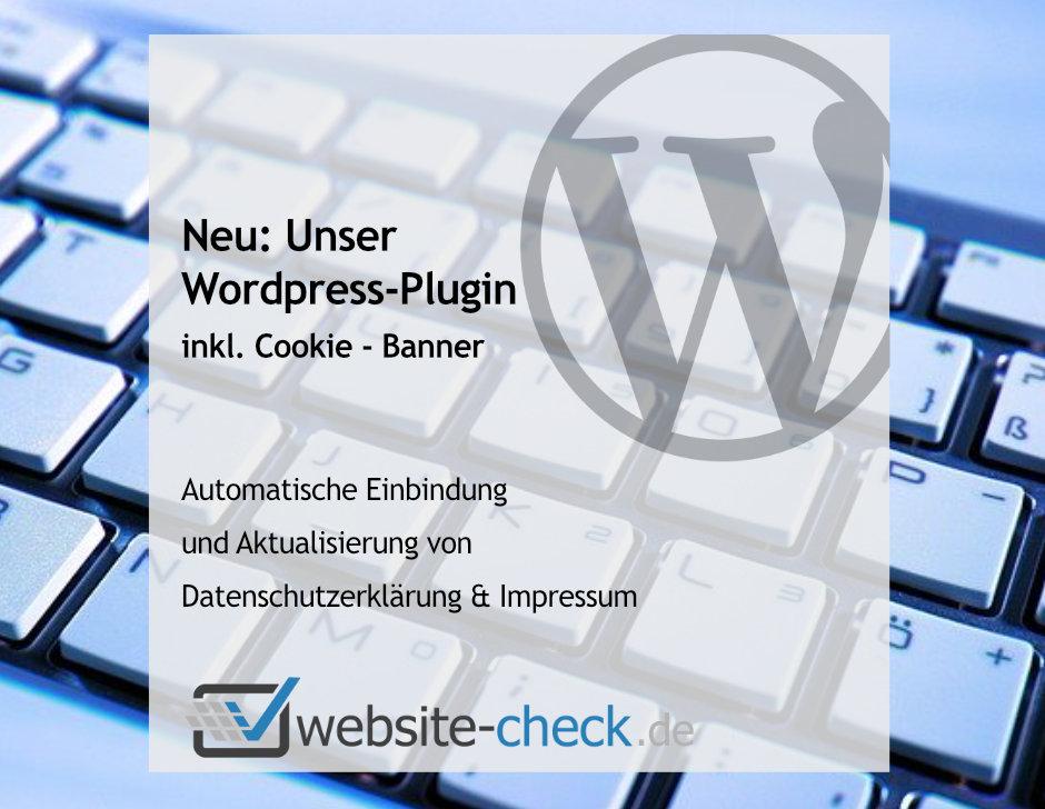 Cookie-Banner inkl. Rechstexte Updater für Wordpress nun verfügbar