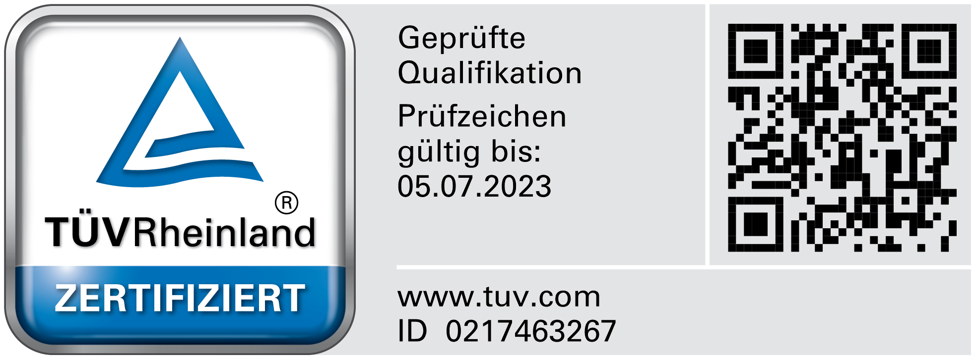 TÜV Rheinland Testmark